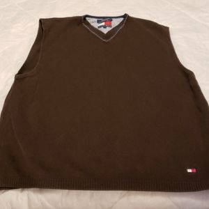 Tommy Hilfiger VNeck Sweater Shirt Vest Mens 2XL